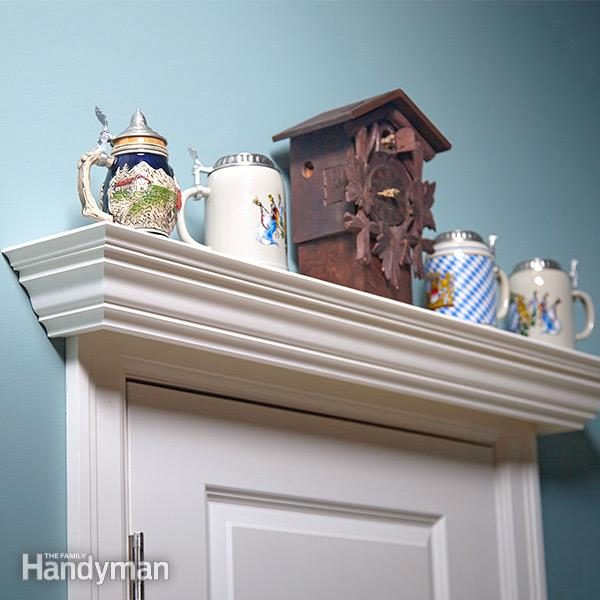 Over the Door Display Shelf Plans  The Family Handyman