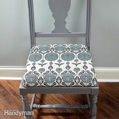How To Make Kitchen Chair Back Covers High Arm Upholster A The Family Handyman Fh15may Uphols 01 2 Reupholster