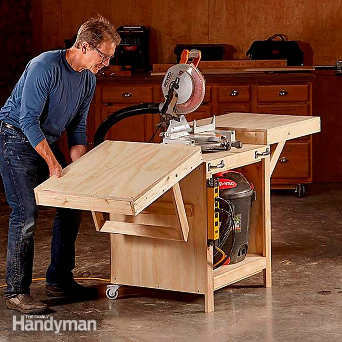 Table Saw And Router Station