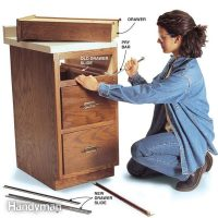 Fixing Drawers: How to Make Creaky Drawers Glide   The ...
