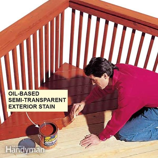 Can You Stain PressureTreated Wood  The Family Handyman
