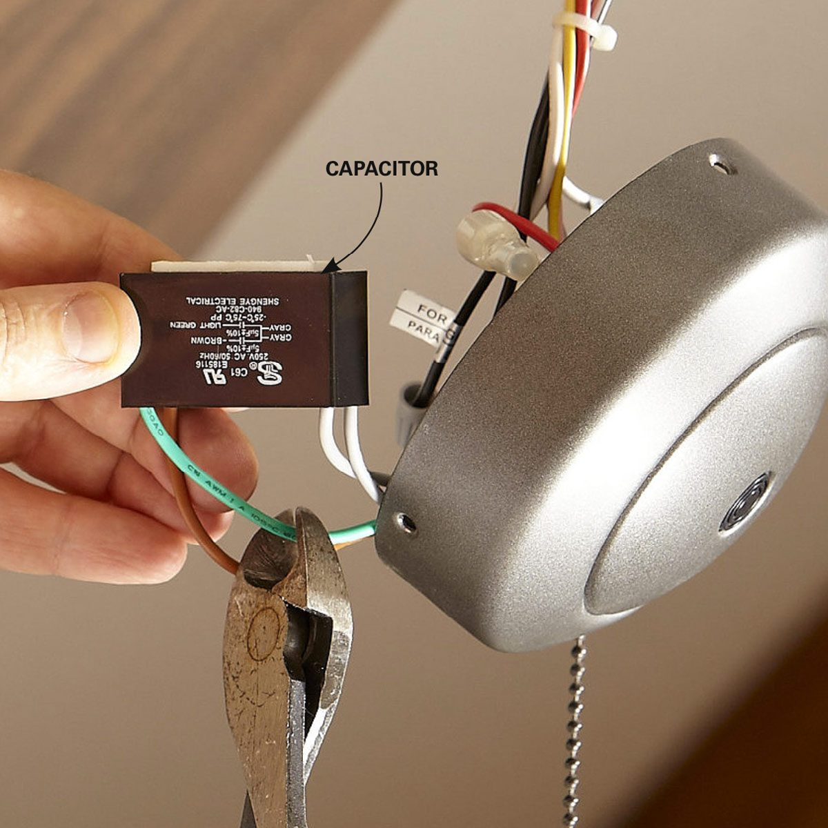 Issue With Ceiling Fan Transmitter And Remote Doityourselfcom