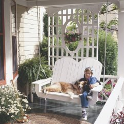 Chair Covers Diy Belmont Barber Parts 10 Pretty Porch Swings - The Family Handyman