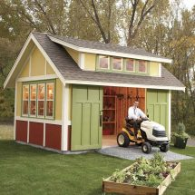 Family Handyman Garden Shed