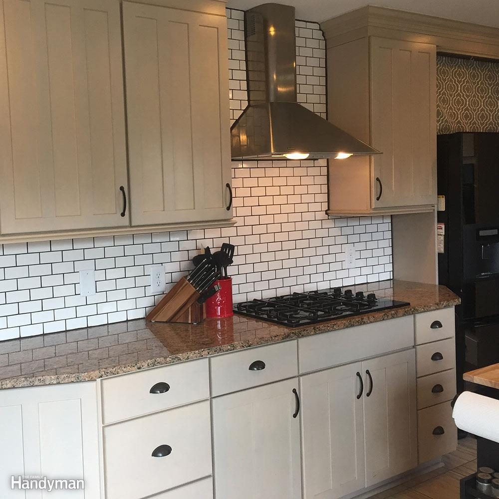 Dos And Don Ts From A First Time Diy Subway Tile Backsplash Install Family Handyman