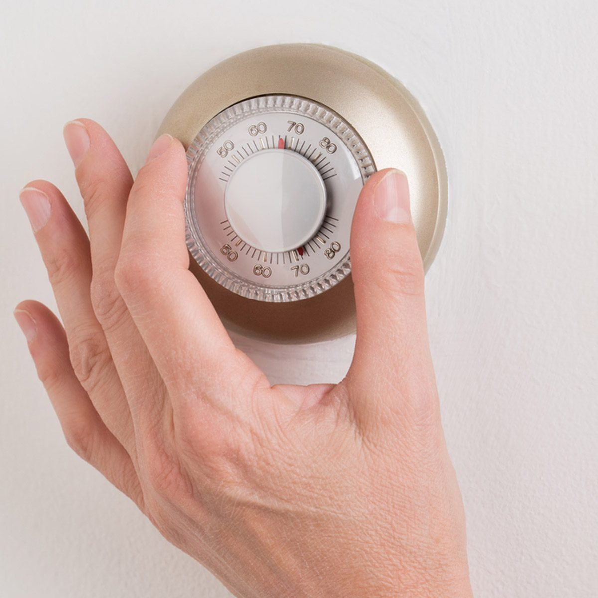 hight resolution of mechanical thermostat