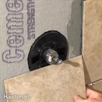 How to Cut a Large Hole in Tile | The Family Handyman