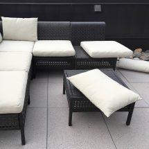 Ikea Hacks Add Ties Outdoor Furniture Cushions
