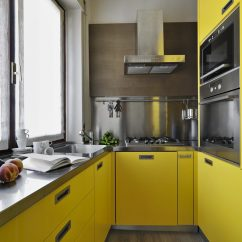 Kitchen Cabinets Color Indoor Garden Trending Cabinet Colors The Family Handyman Sunny Yellow