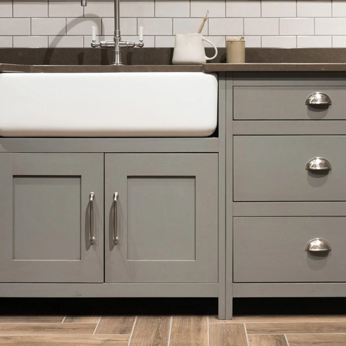kitchen cabinets color green egg outdoor trending cabinet colors the family handyman neutral gray