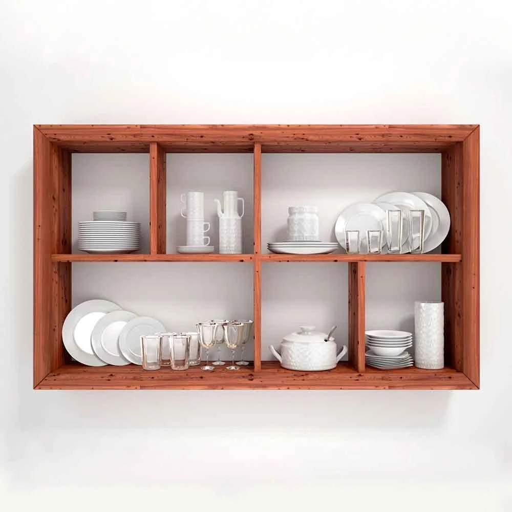 kitchen shelf ikea table with drawers tips for organizing open shelves the family handyman organize by usefulness