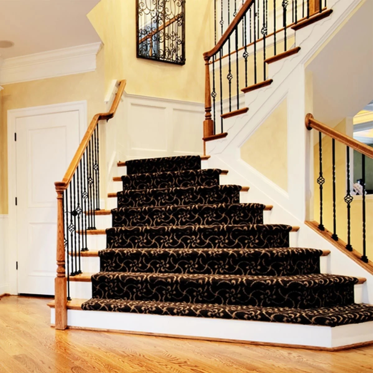 Make A Home Safe For Older Folks | Handrail For Stairs Indoor | Short Staircase | Victorian | Width Hand | Wall | Glass Panel Stainless Steel Handrail
