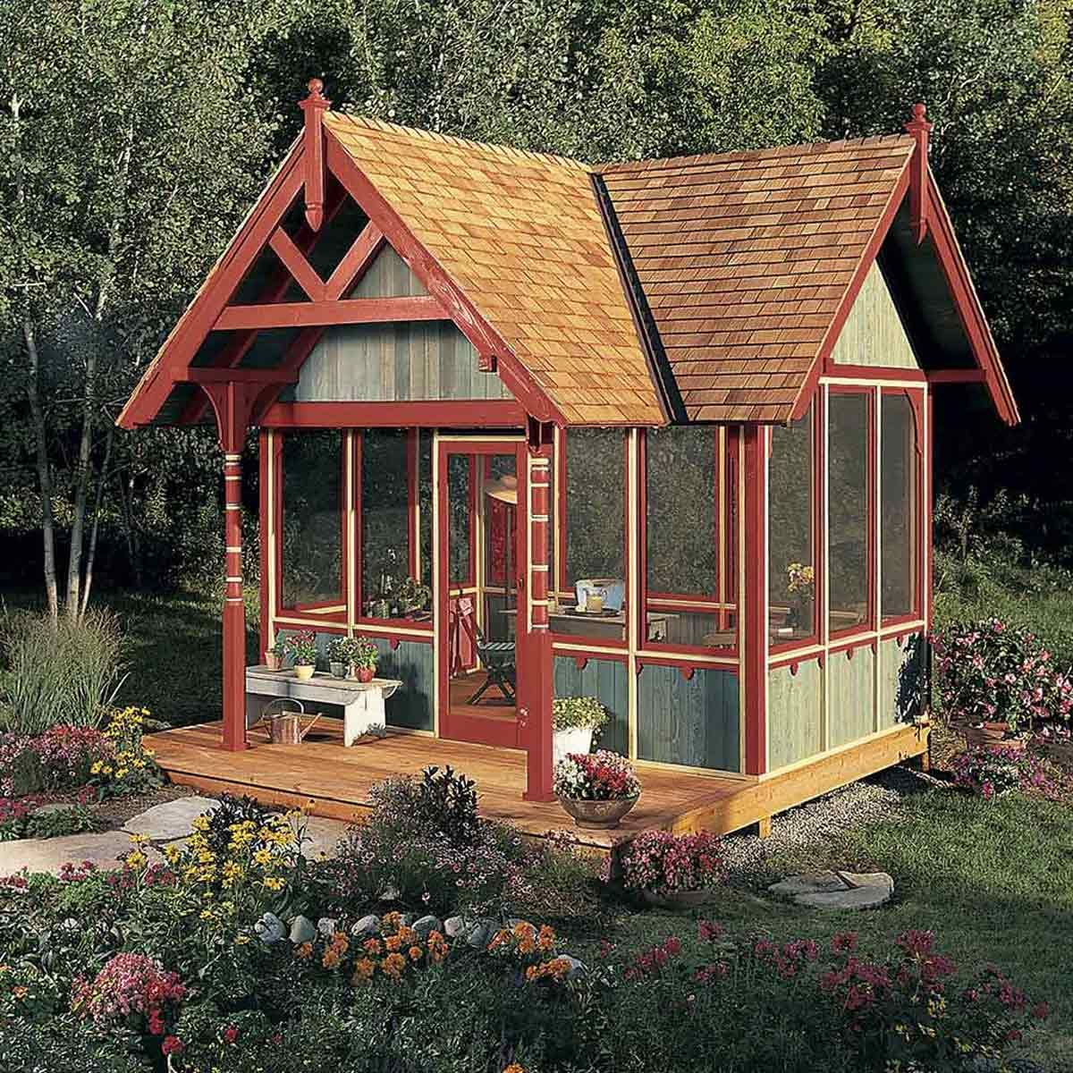 24 Tips For Turning A Shed Into A Tiny Hideaway The