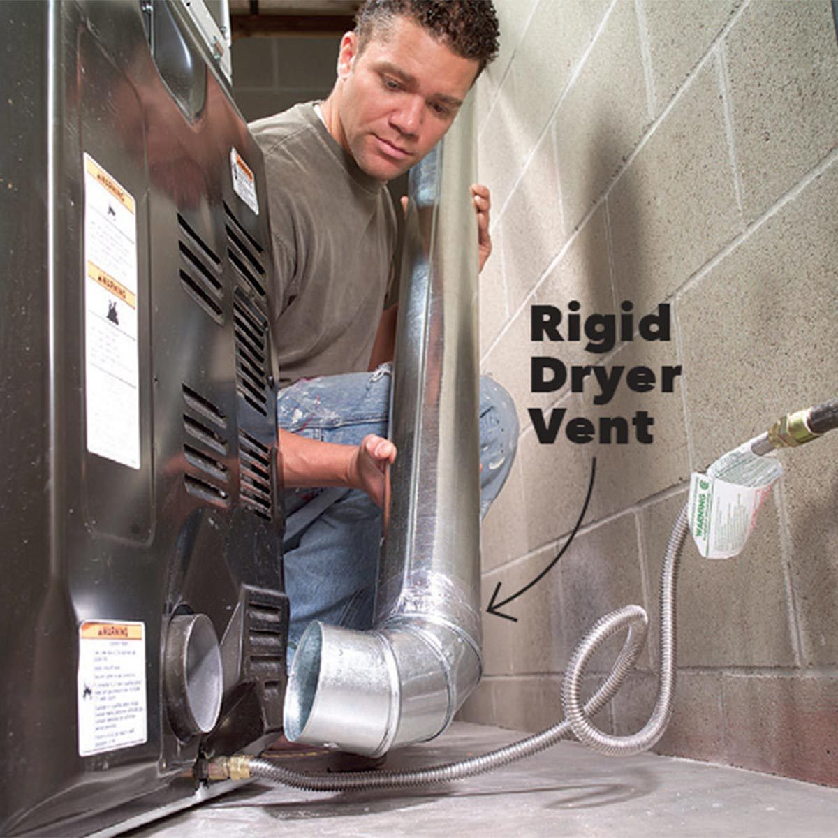 dryer vent installation and upgrades