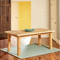 Build a Simple Reclaimed Wood Table | The Family Handyman