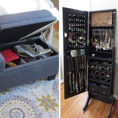 Folding Chair Rack Diy Best Hunting Chairs How To Store Seasonal Clothes The Family Handyman