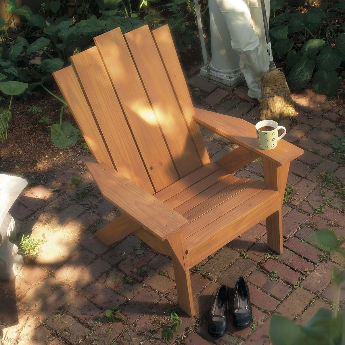 outdoor table and chairs wood deep seat patio without cushions 15 awesome plans for diy furniture the family handyman how to make an adirondack chair love