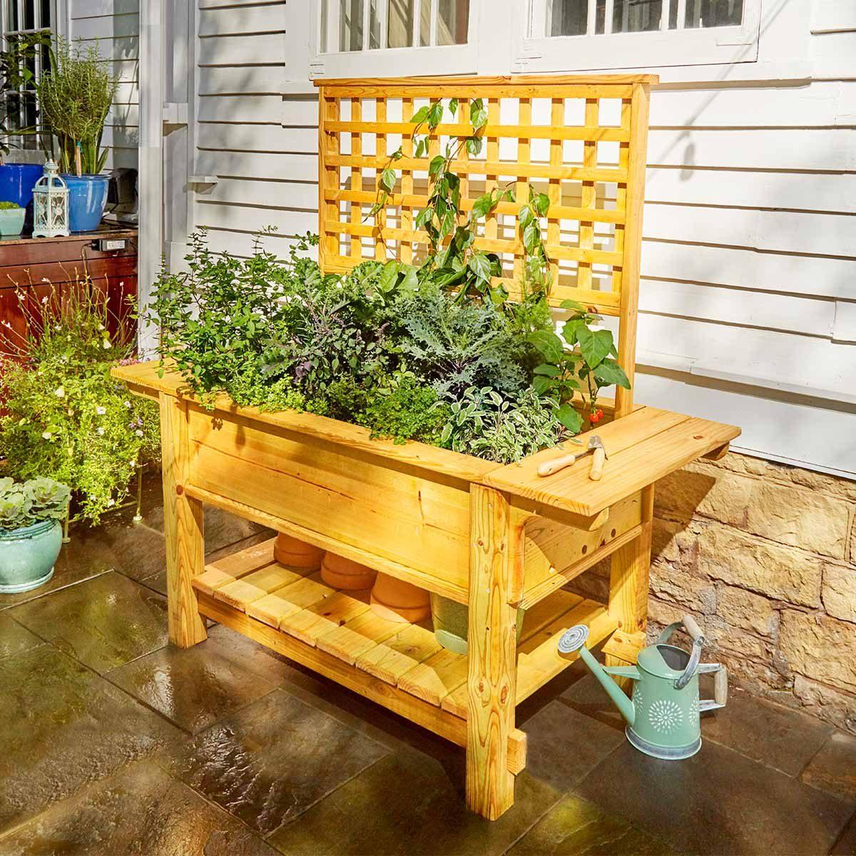 Raised Garden Box Height