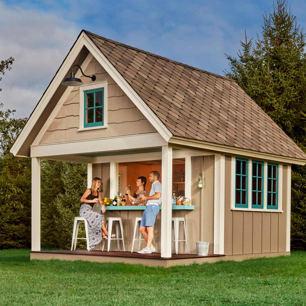 The Double Duty Pub Shed The Family Handyman
