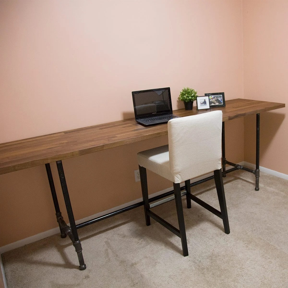 How to Build a Pipe Desk  The Family Handyman