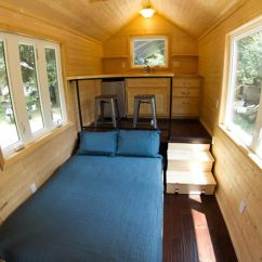 Tiny House Kitchens Kitchen Cabinet Makeovers 13 Incredible Home The Family Handyman Studio Rises Above Rest Of Room