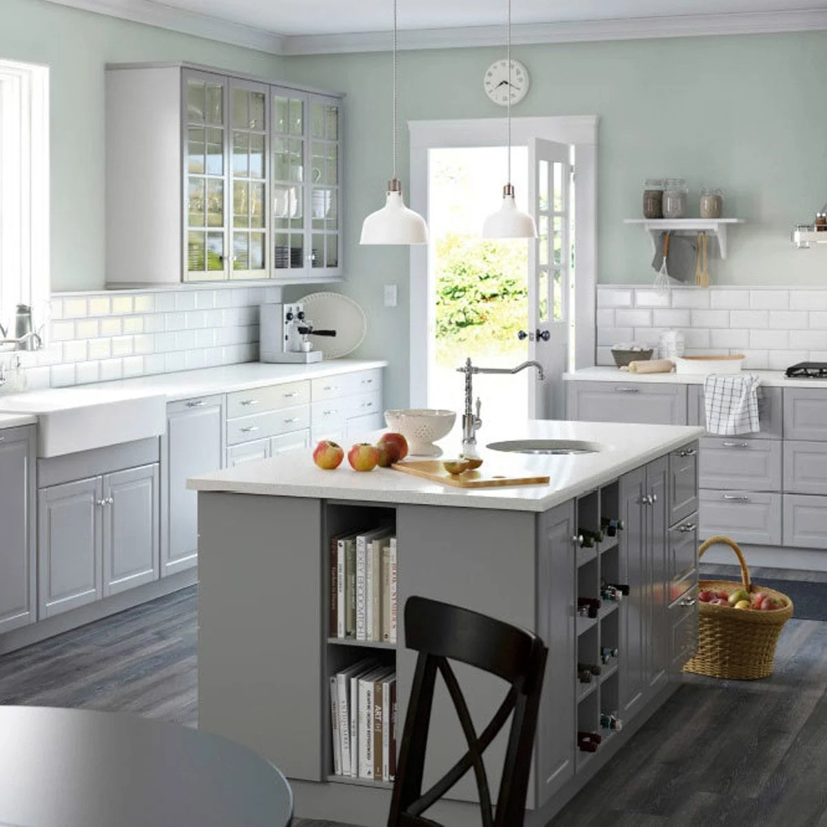 island kitchen flooring options 12 inspiring ideas the family handyman add bookshelves