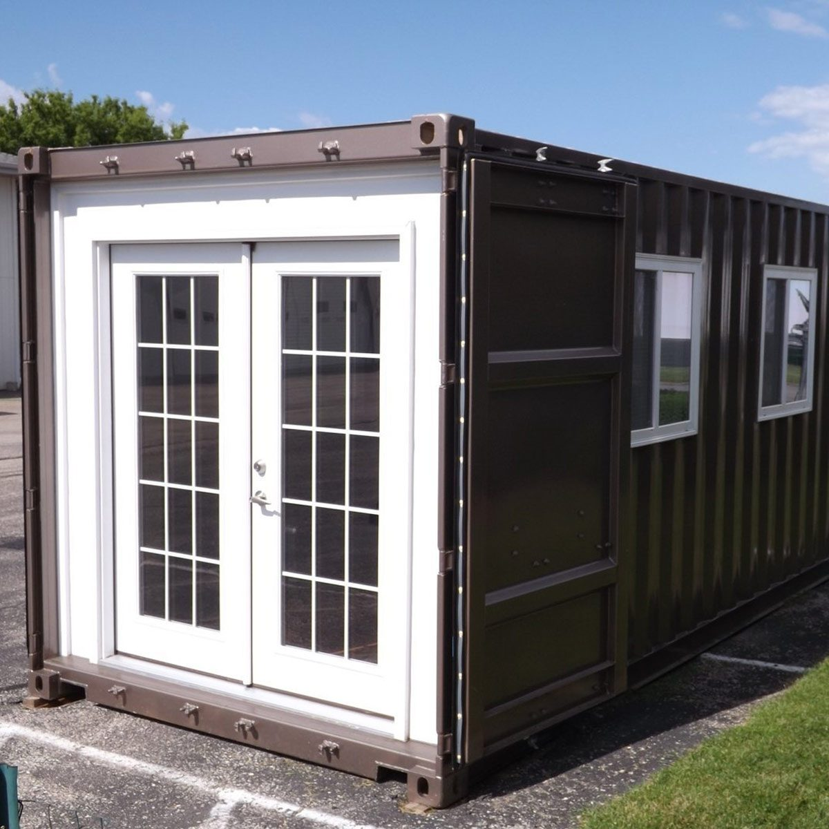 Best Kitchen Gallery: Amazon Now Sells Shipping Container Tiny Homes Family Handyman of Shipping Container Tiny Home on rachelxblog.com