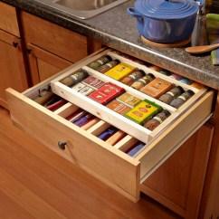 Two Tier Kitchen Drawer Organizer Design A Online 12 Ingenious Spice Storage Ideas — The Family Handyman