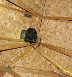 desk fan attic venting [ 1200 x 1200 Pixel ]