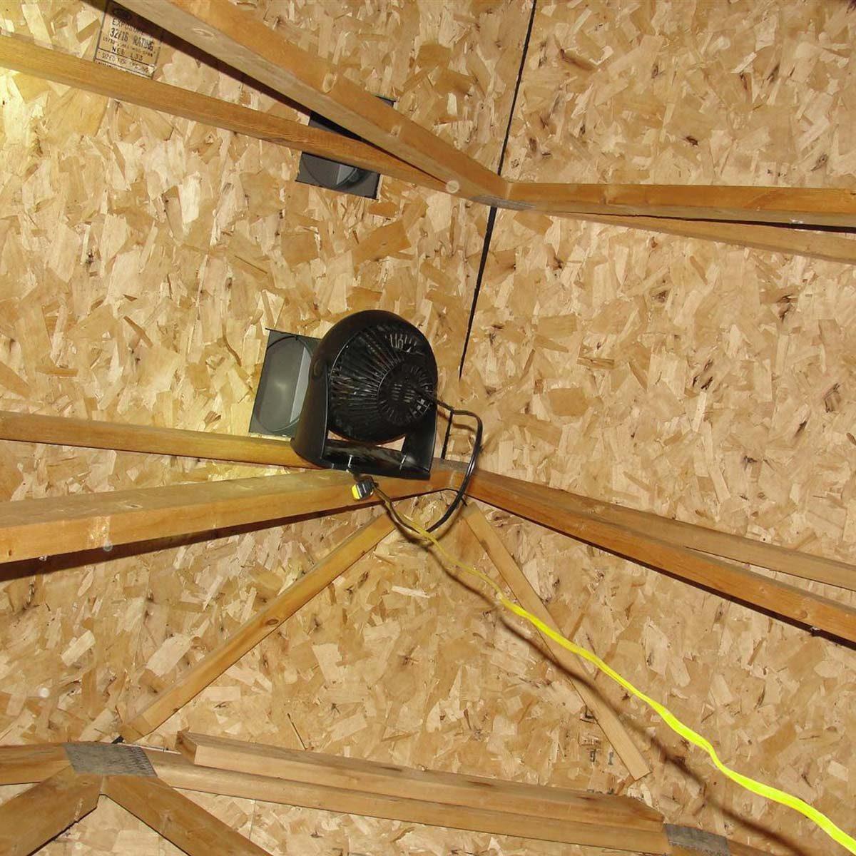 hight resolution of desk fan attic venting