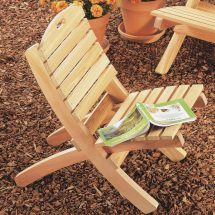 Easy Outdoor Chairs Build Family Handyman