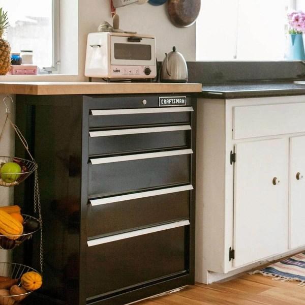 Creative Kitchen Counter Space