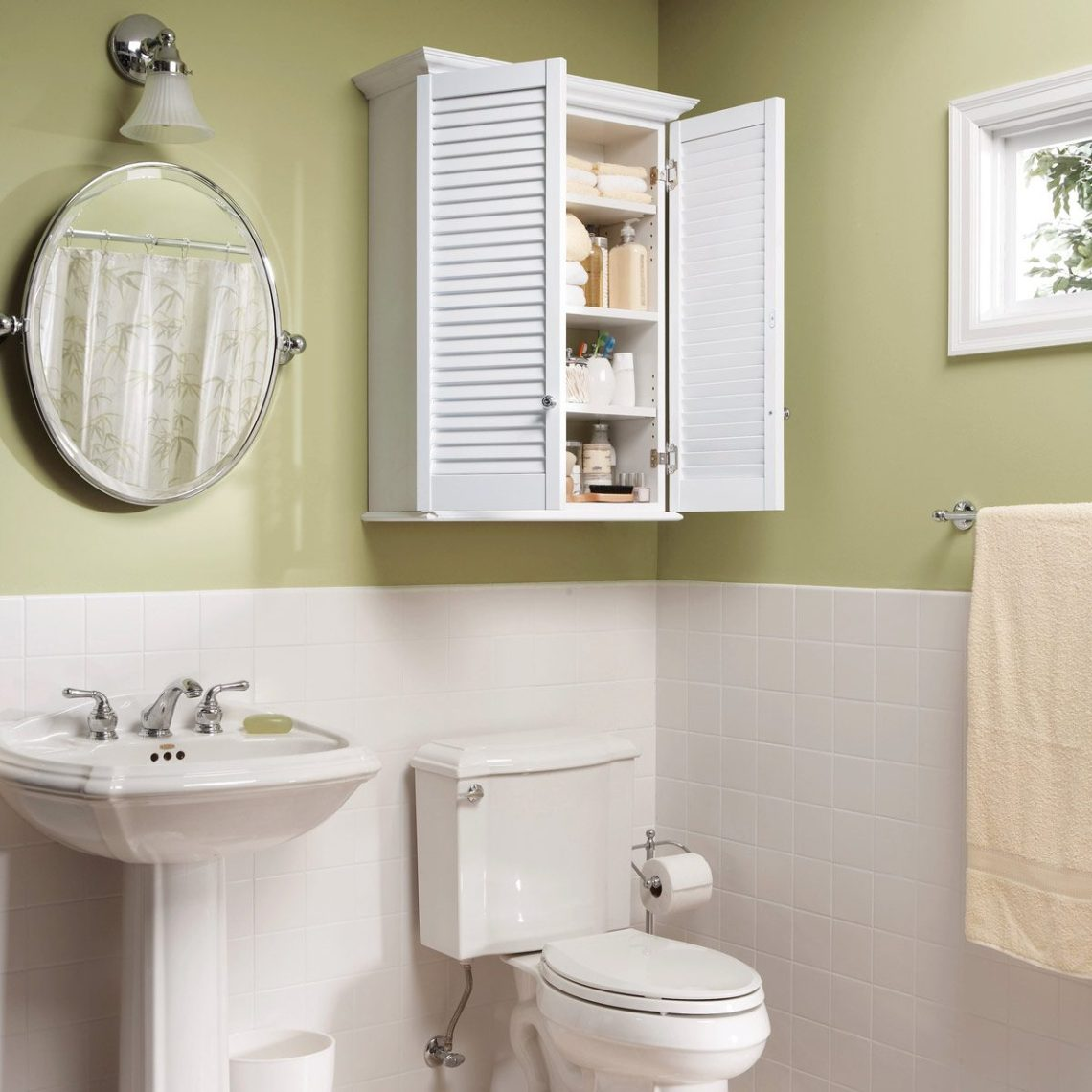 Fhoct___ Super Simple Bathroom Cabinet