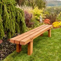 Make Simple Timber Bench Family Handyman