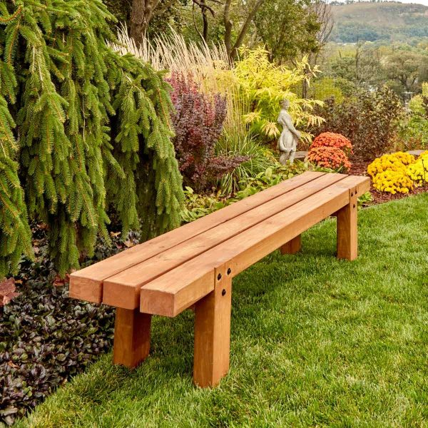 make simple timber bench