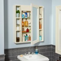 Make a Hidden Compartment Medicine Cabinet  The Family ...