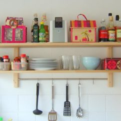 Shelves For Kitchen Bar Designs 11 Ideas Organizing Your The Family Handyman Hang Items From