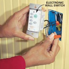 220v Sub Panel Wiring Diagram For Contactor How To Install Ceiling Fans Family Handyman The Connect Switch