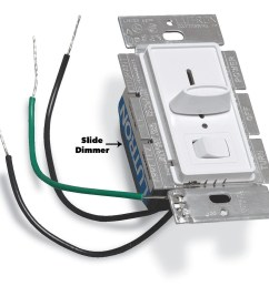 install a toggle electronic or slide dimmer slide dimmer light switch [ 1200 x 1199 Pixel ]