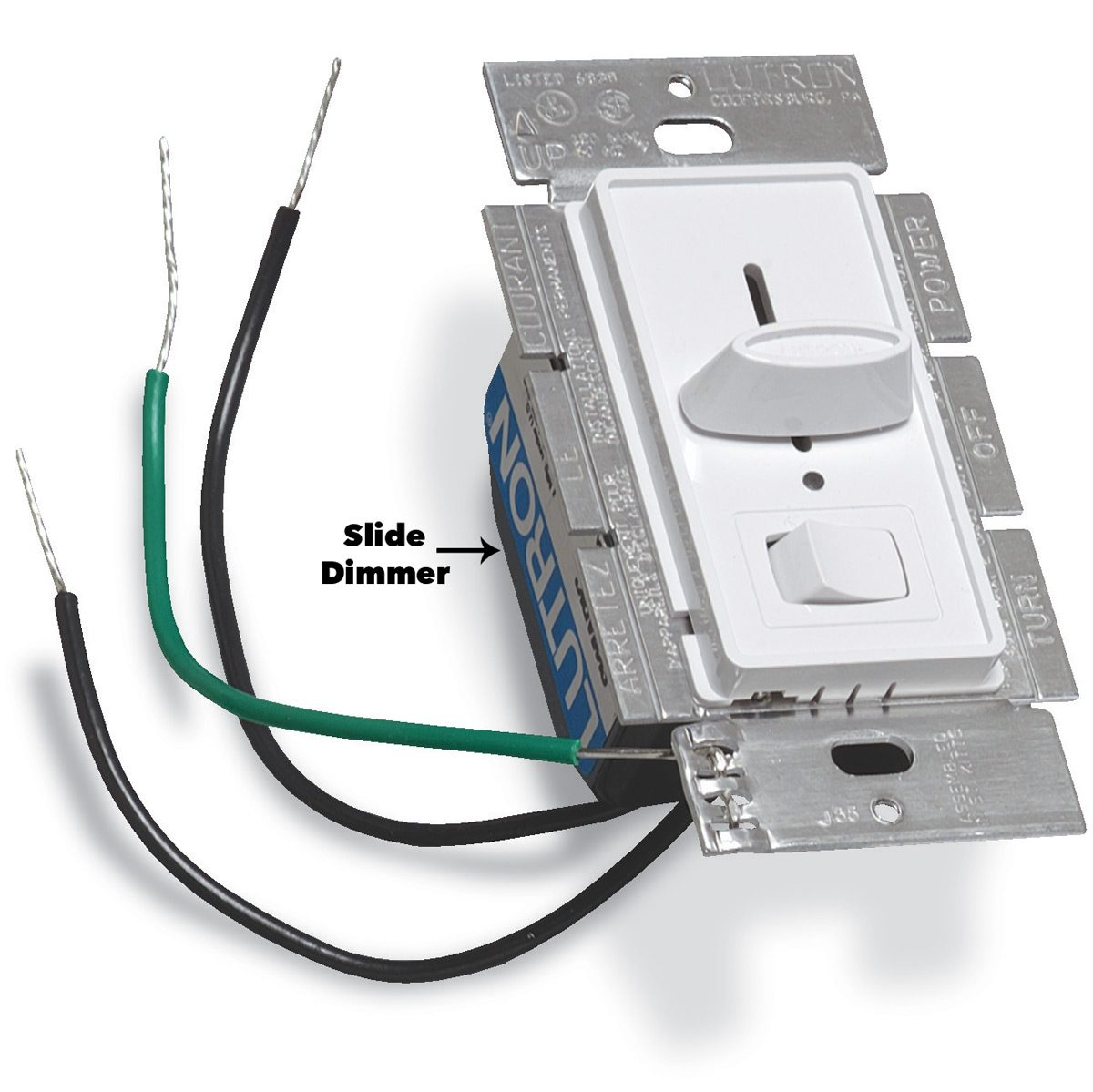 hight resolution of slide dimmer light switch