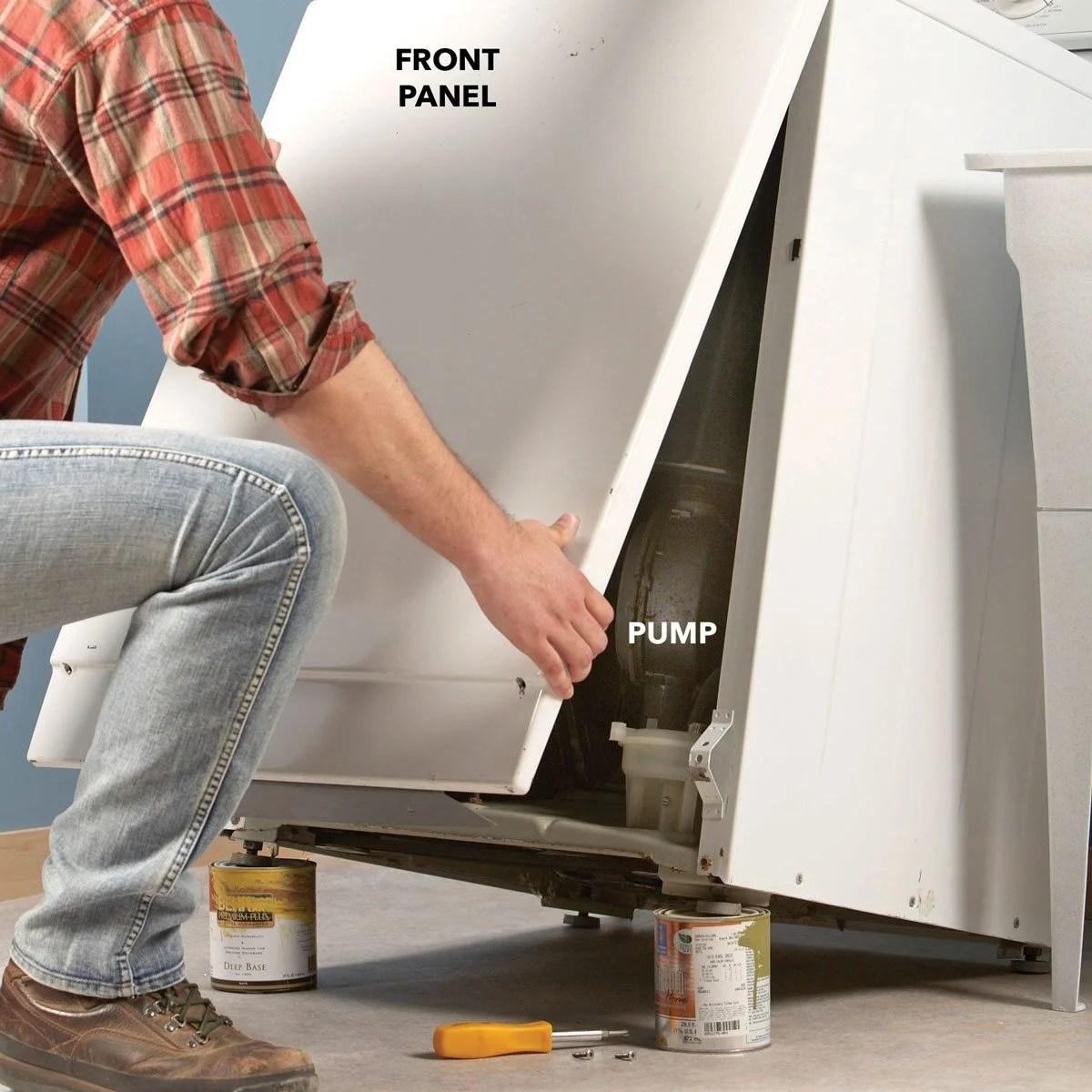 How To Drain A Washing Machine That Won T Drain