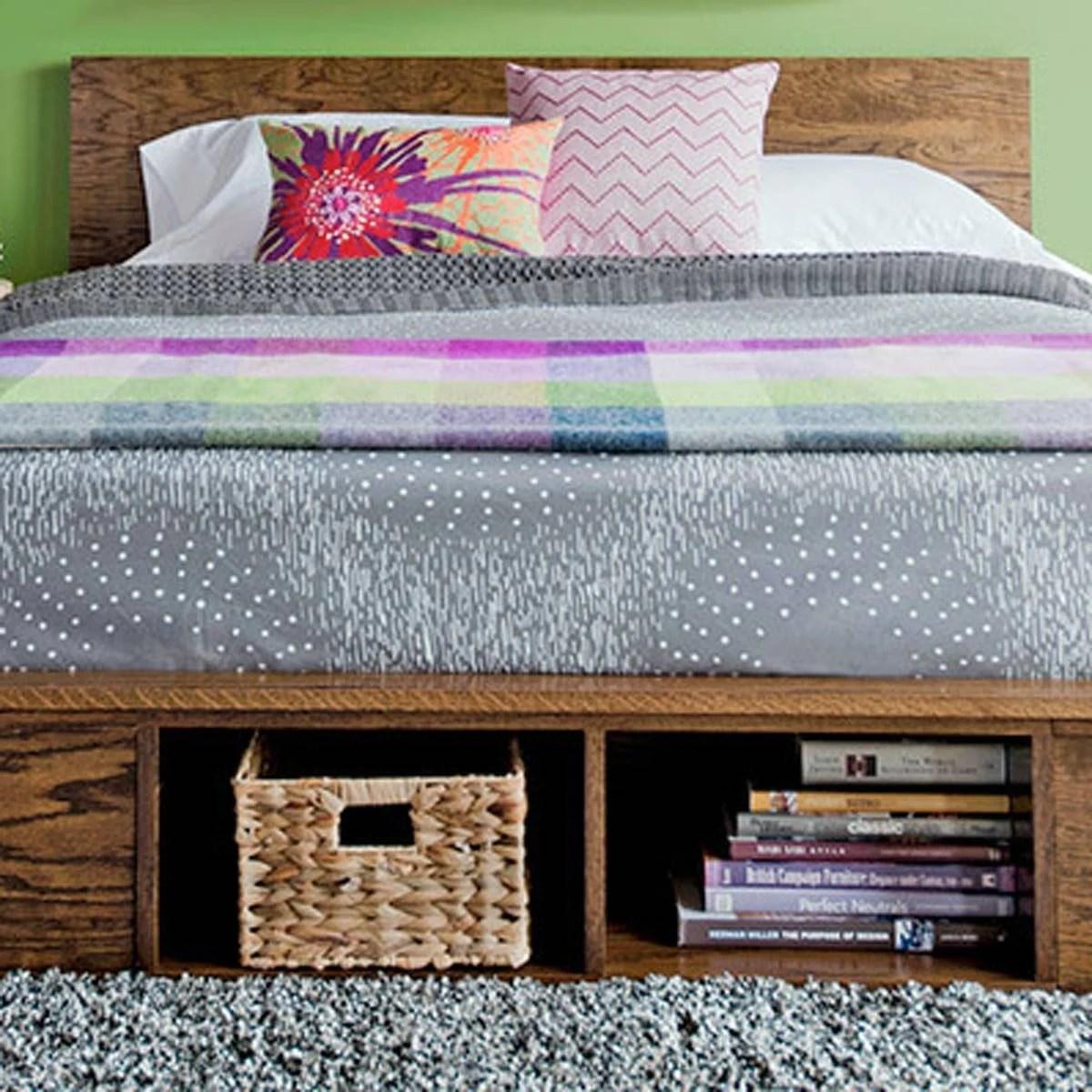 10 Awesome Diy Platform Bed Designs