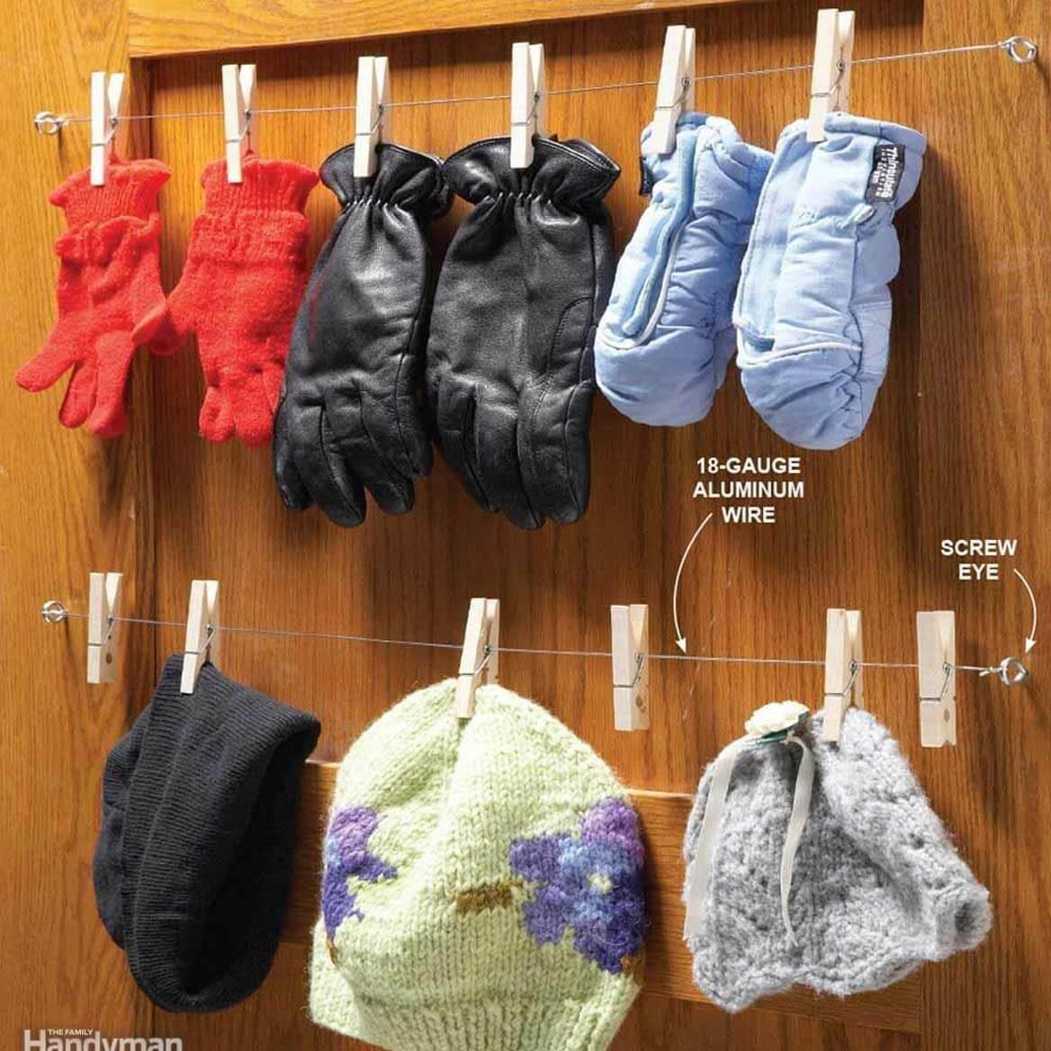 12 Fun DIY Mitten Drying Racks to Make the Ultimate DIY