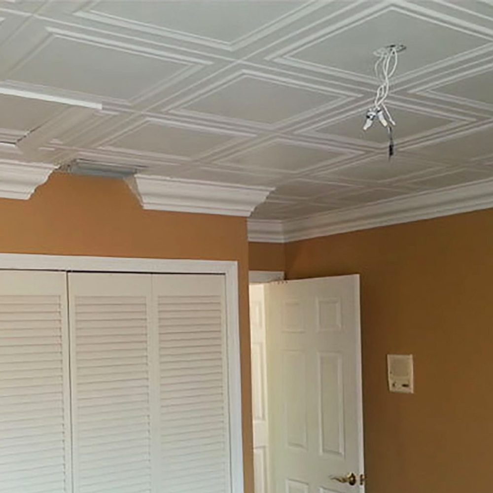 medium resolution of surface mount ceiling tiles