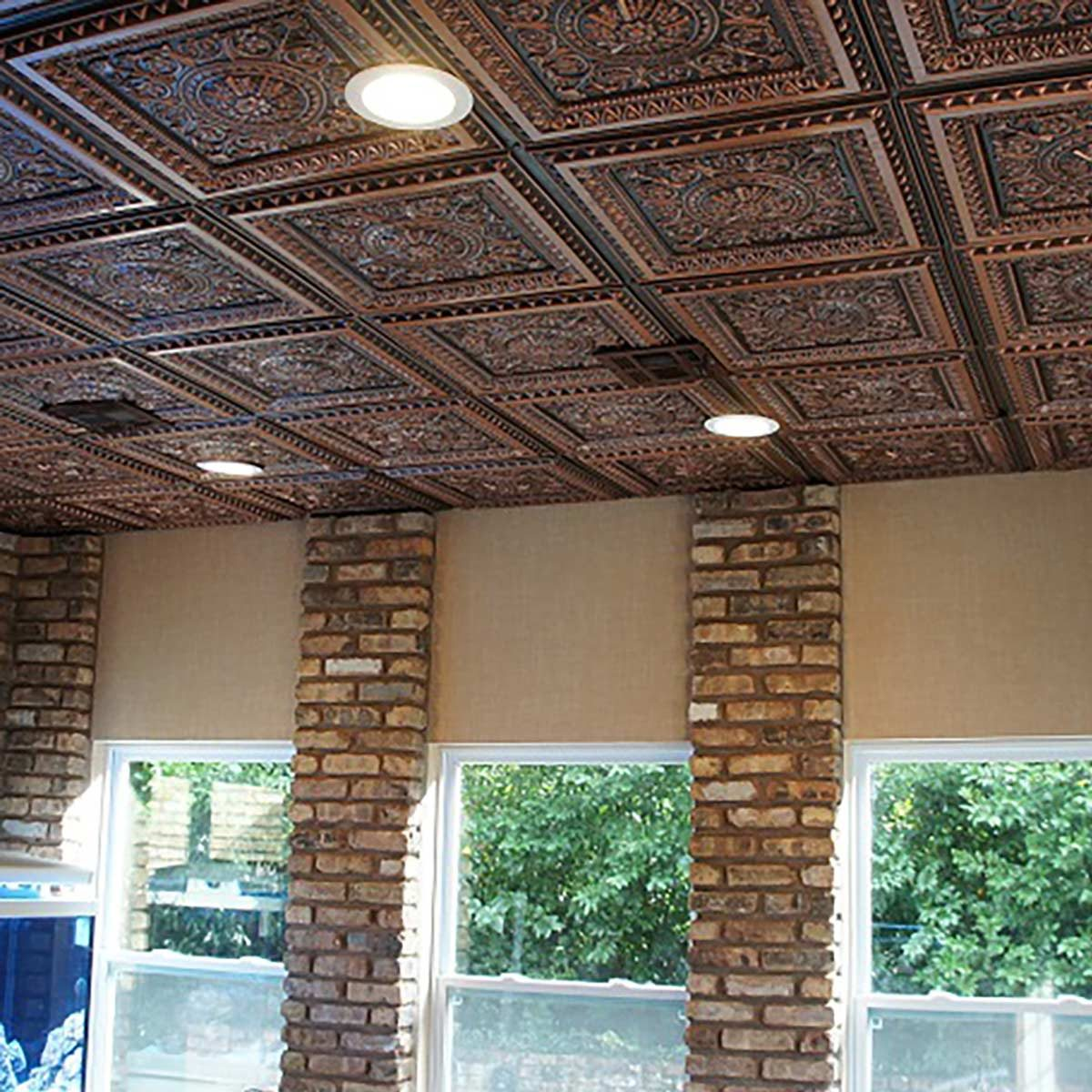 hight resolution of tin ceiling