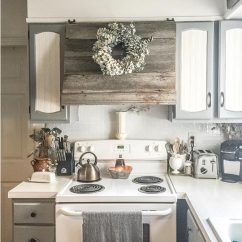 Kitchen Hood Fans Waffle Weave Towels Creative Ways To Disguise A Range Vent The Family Handyman Rustic Cover