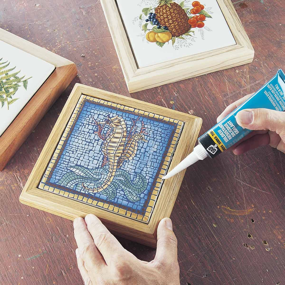how to make a trivet gift idea from