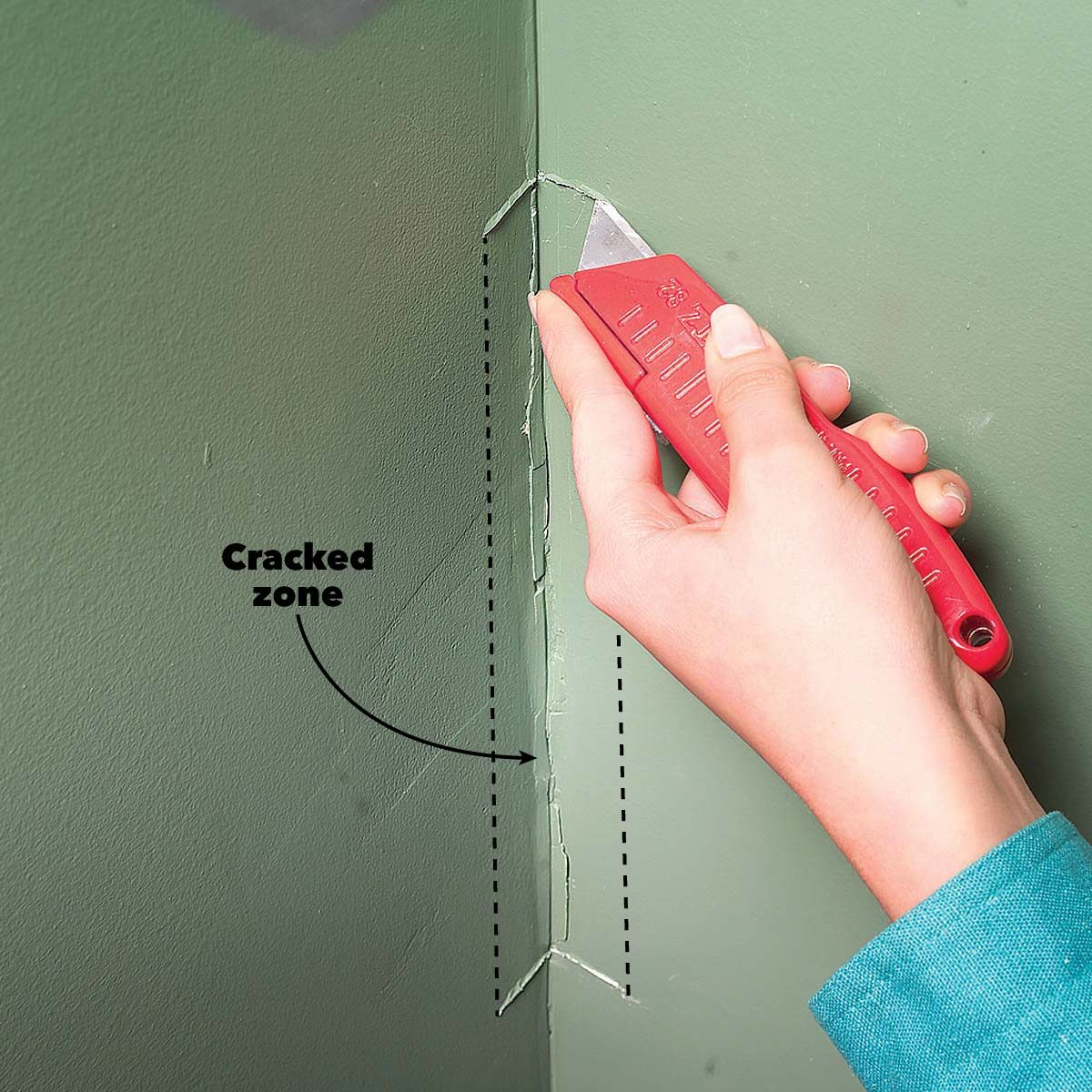 Drywall Repair How To Patch A Hole In The Wall Diy