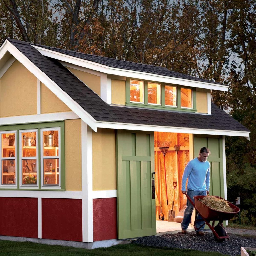 medium resolution of add solar power to your shed