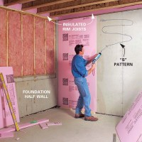 How to Finish a Basement: Framing and Insulating  The ...